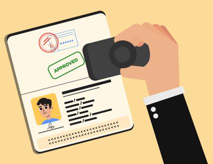 کنترل امنیت گذرنامه الکترونیکی